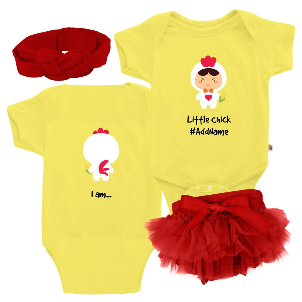 TeezBee Baby Chick Costume - Girl Gift Sets