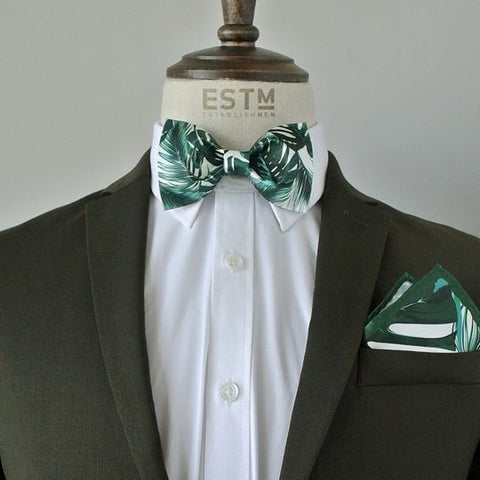 Tropical Resort  Bowtie & Pocket Square