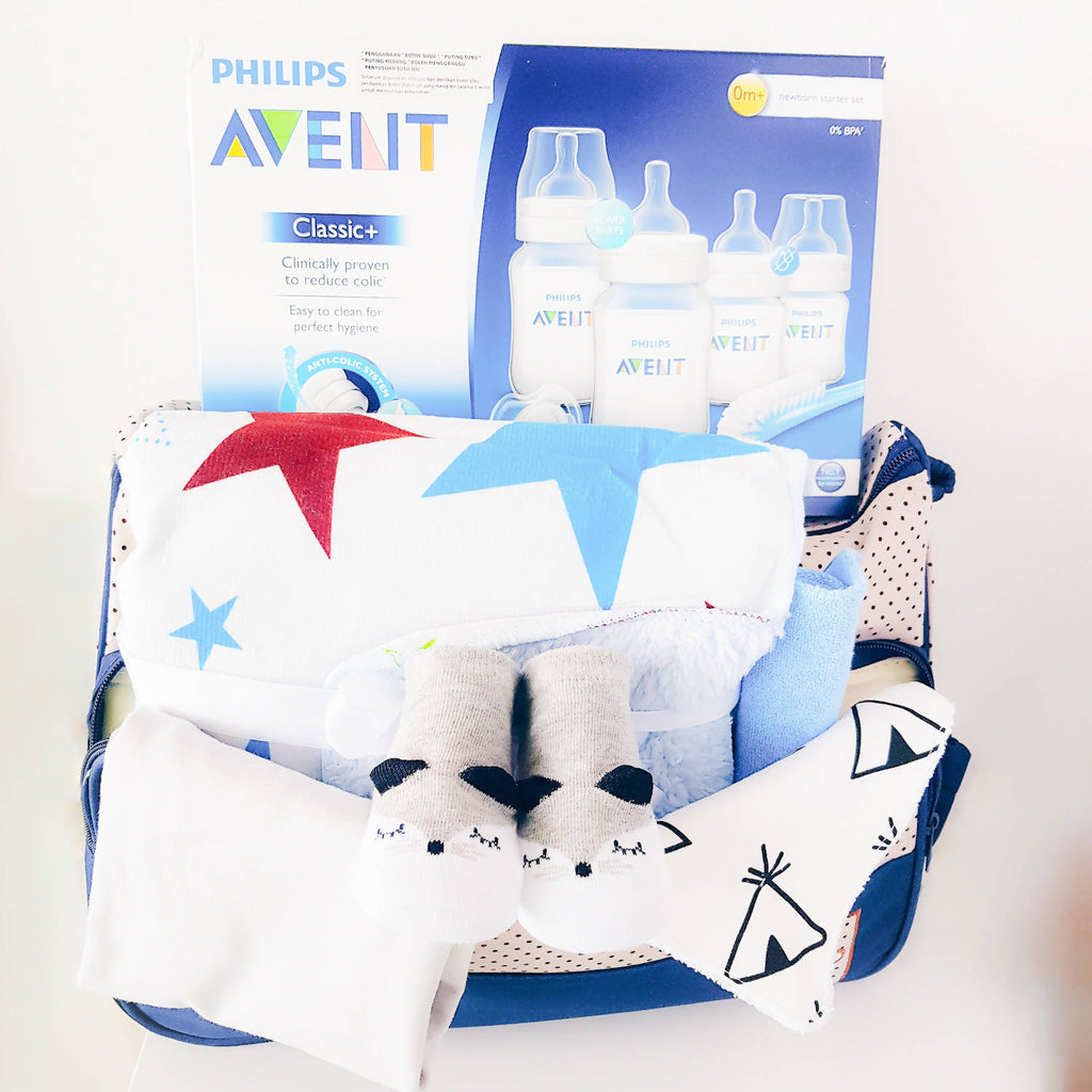 Baby Boy Combo Gift Set (Klang Valley Delivery)