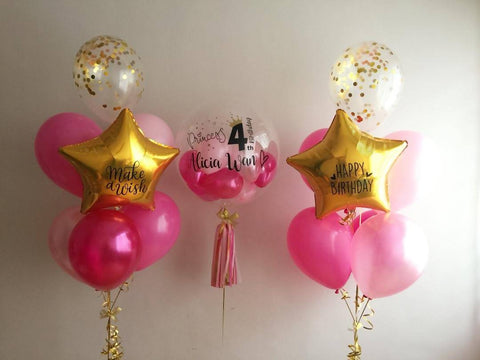PARTY Bubble Balloon Set A