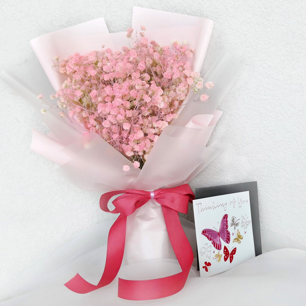 Bethany Baby Breath Bouquet (Valentine's Special)
