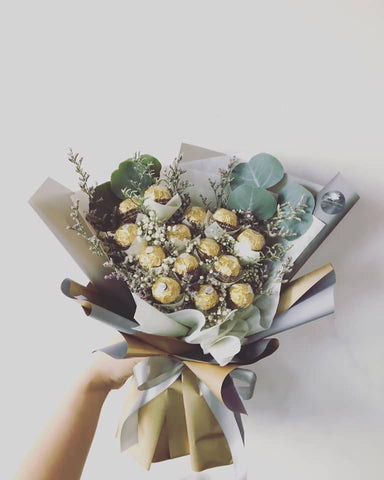 Ferrero Chocolate bouquet (Kota Kinabalu Delivery Only)