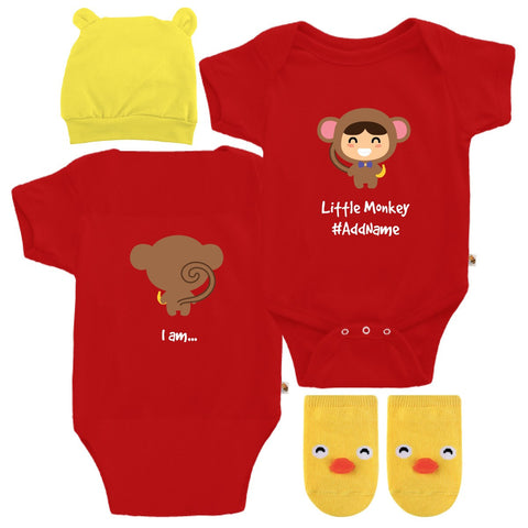 TeezBee Baby Monkey Costume - Boy Gift Sets