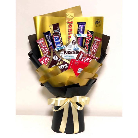 Mix Chocolate Bouquet 14 (Penang Delivery only)