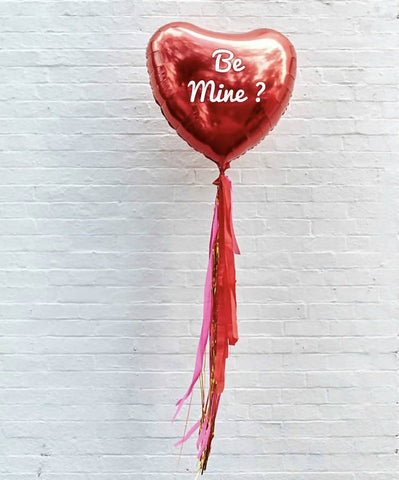 "32"" Custom Jumbo Heart Balloon"