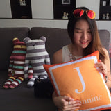 Personalised Two-Tone Cushion (Pre-order 15 to 25 working days)