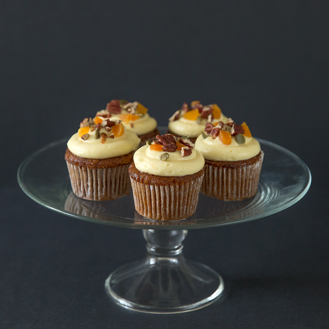 12 pieces of Carrot Pecan Cupcake