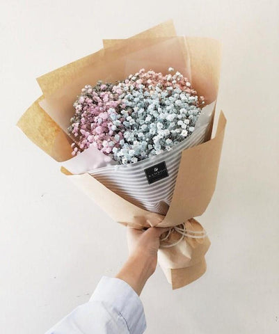 Cotton Baby Breath Bouquet (Penang Delivery only)