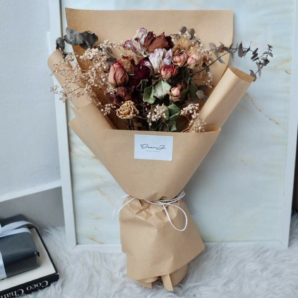 Artisan Flower Bouquet (Dried Flowers) | Giftr - Malaysia\'s Leading ...