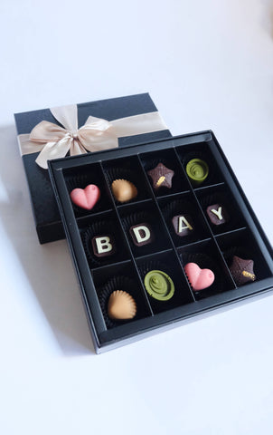 Elegant PURE Chocolate Gift (12pcs)