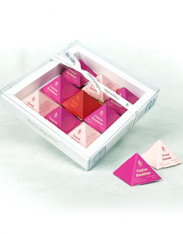 Tea Pyramid Gift Box - Sayang