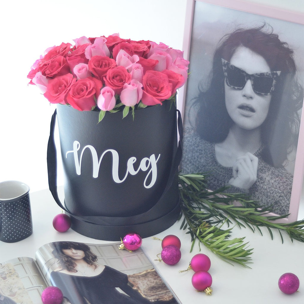 Tailored Curated Personalised Flower Box
