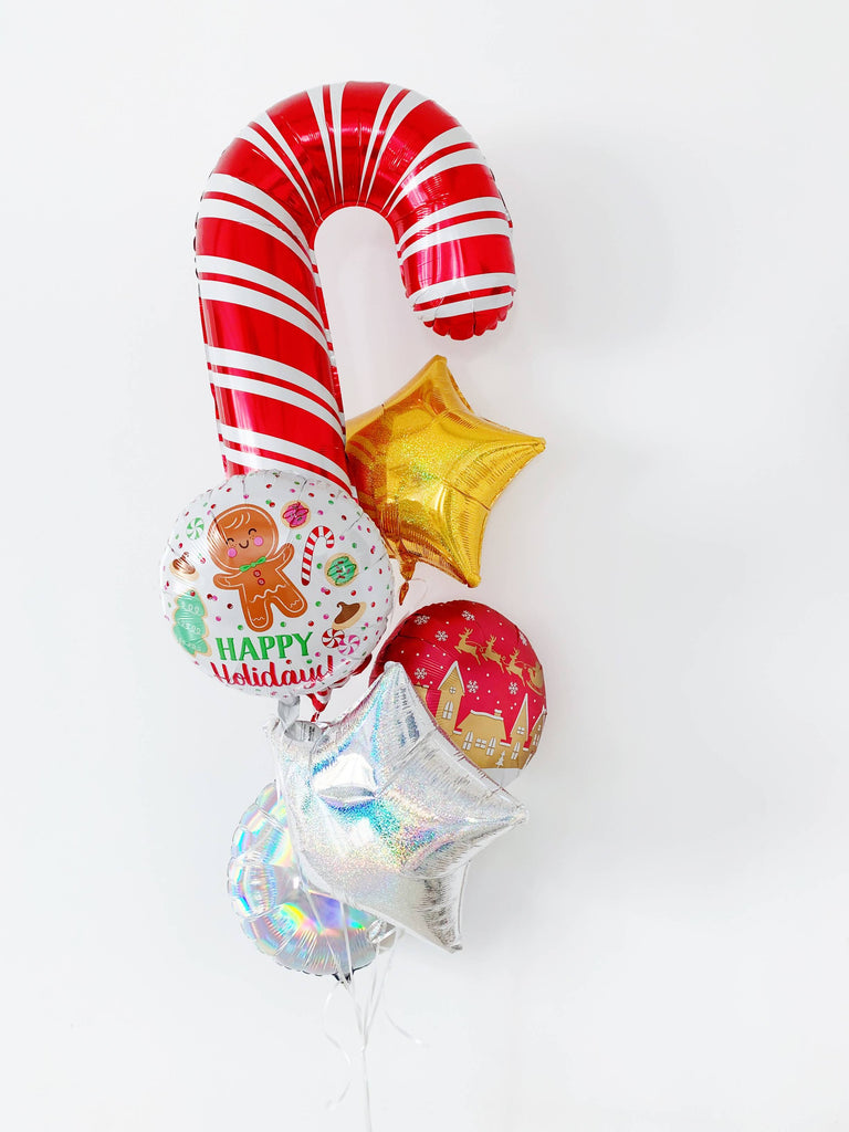 Basic Christmas Balloon Bouquet (Christmas 2018)