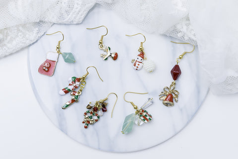 Christmas Earring Set of 7