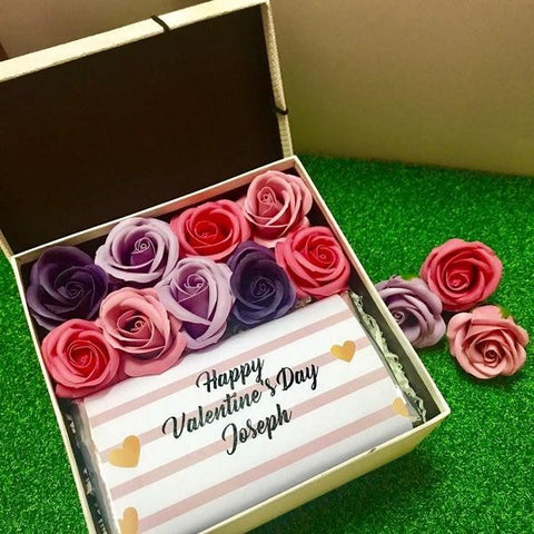 Special Gift Box - Pink & Gold Design