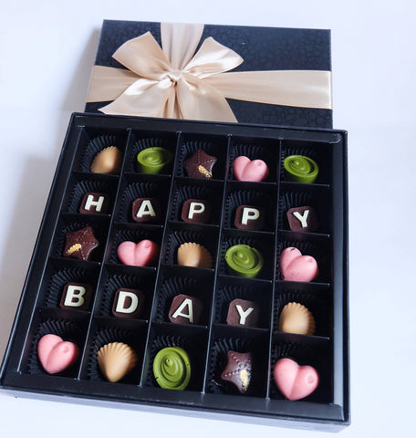 Elegant Pure Chocolate Gift (25pcs)