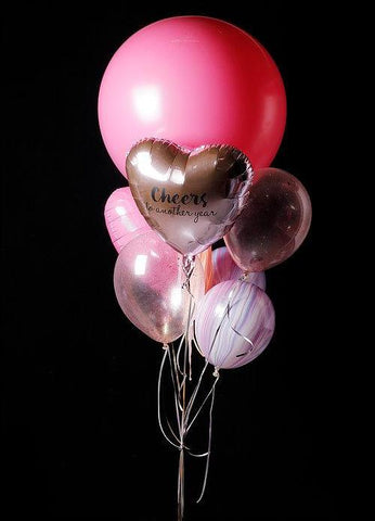 "36"" Jumbo Latex Balloon Bouquet in Pink"