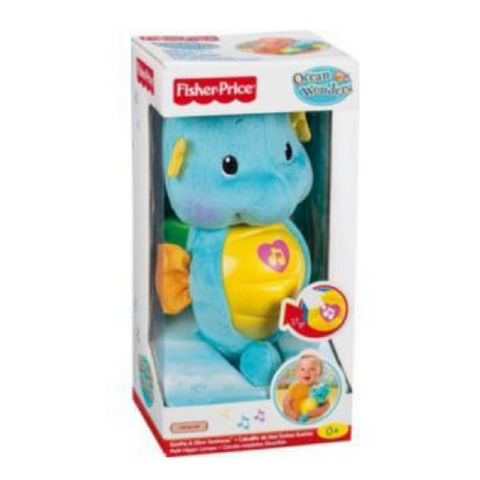 Fisher Price Seahorse-Blue