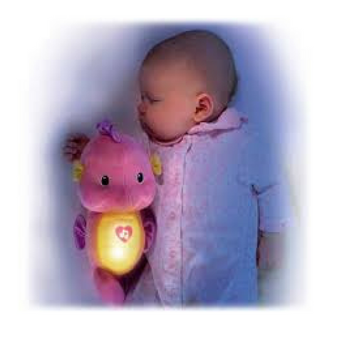 Fisher Price Seahorse-Pink