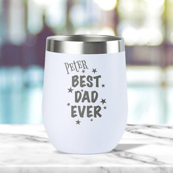 Best Dad Ever' Insulated Tumbler (12oz)