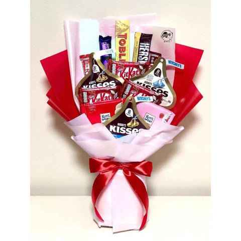 Mix Chocolate Bouquet 13 (Penang Delivery only)