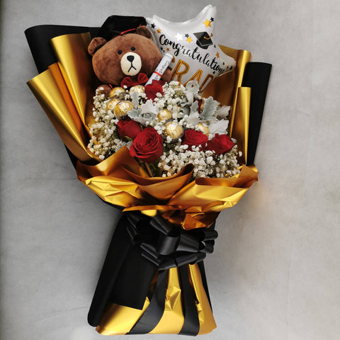 Chocolate Balloon Toy Flower Bouquet 20