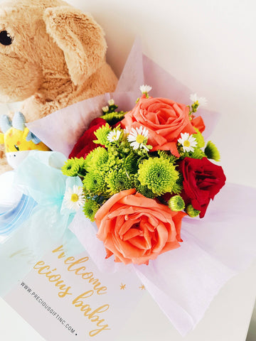 Baby Boy Bundle|Flowers