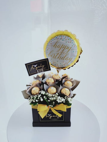 Ferrero box with balloon (Negeri Sembilan Delivery only)