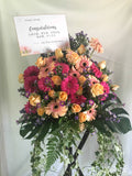 Summer Theme Grand Opening / Congratulatory Flower Stand