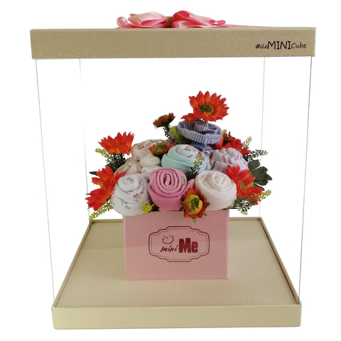100 Days Gift Bouquet for New Born Baby Girl - HDG 003