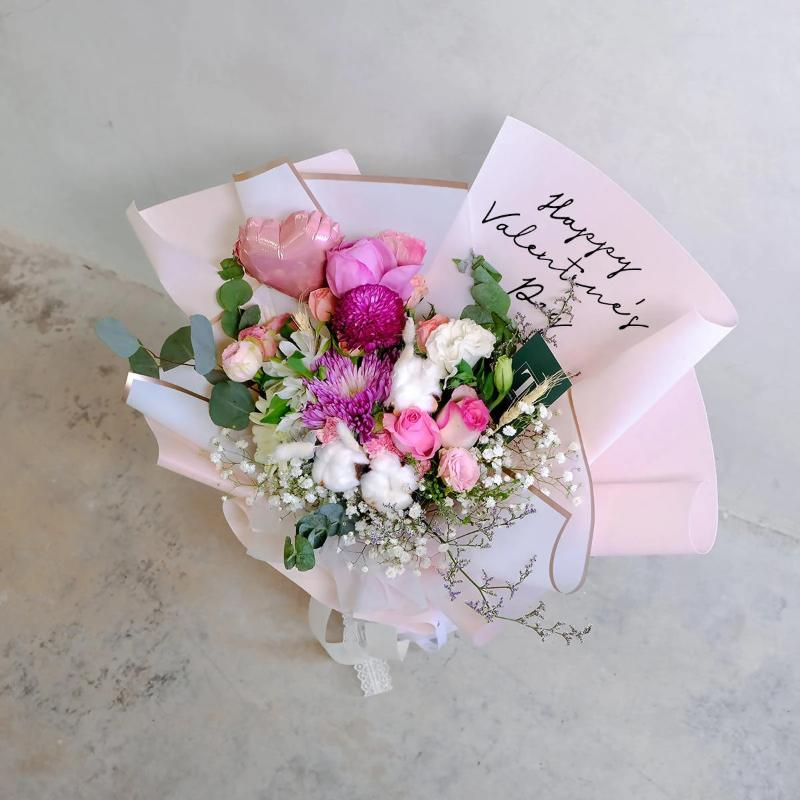 Valentine's Special Pink Wonderful World (Melaka Delivery Only)