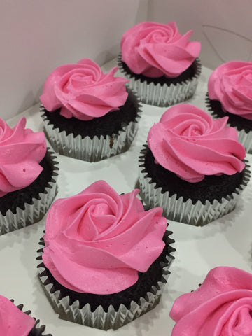Pink Lady Chocolate Cupcake