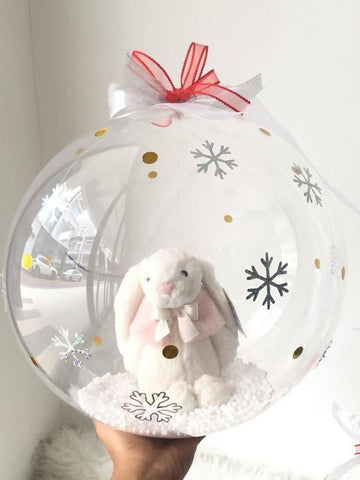 Jellycat in Snow Globe