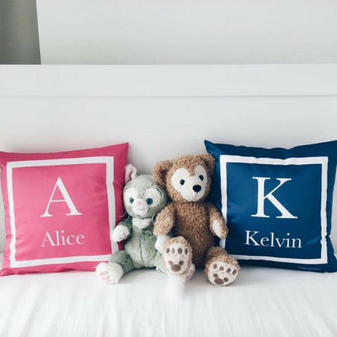 Personalised Monogram Cushion  (Pre-order 2-4 weeks)