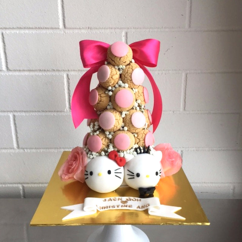 Hello Kitty Croquembouche Tower