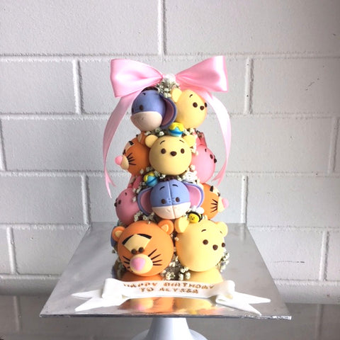 Winnie The Pooh Croquembouche Tower