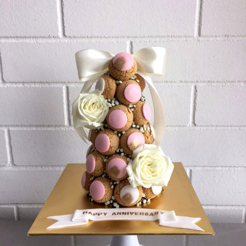 Signature Croquembouche Tower (Pink)