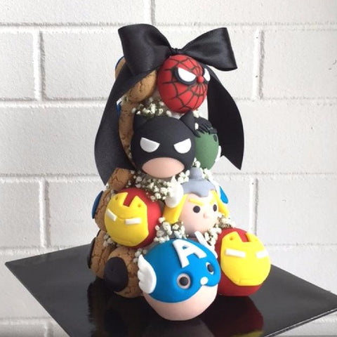 Avengers Croquembouche Tower
