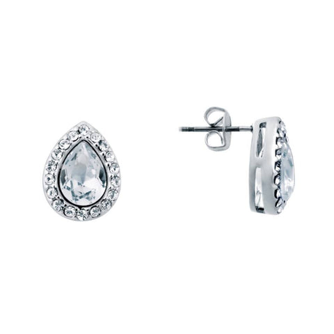 Kelvin Gems Glam Angelic Stud Earrings made with SWAROVSKI Elements