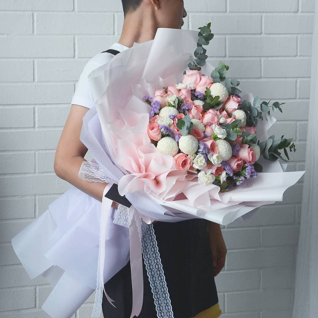 Giant Dreamy Vacation Flower Bouquet | Giftr - Malaysia\'s Leading ...