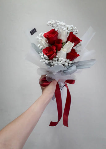 Galassie - Red Rose Flower Bouquet (Johor Bahru Delivery only)