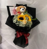Pastel Sunflower Graduation Bouquet