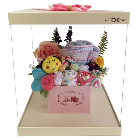 100 Days Gift Bouquet for New Born Baby Girl - HDG 011