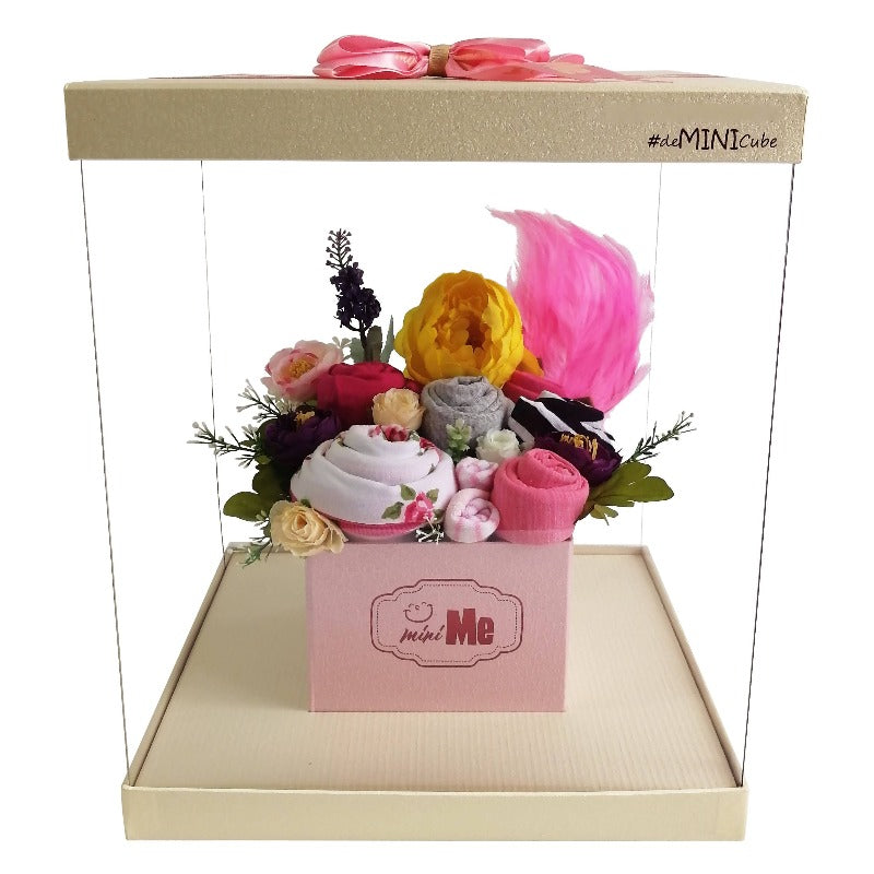 100 Days Gift Bouquet for New Born Baby Girl - HDG 012