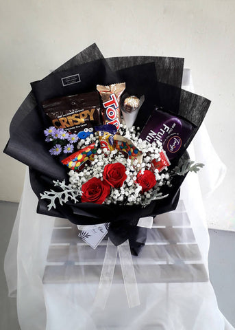Altruista - Rose Flower Bouquet (Johor Bahru Delivery only)