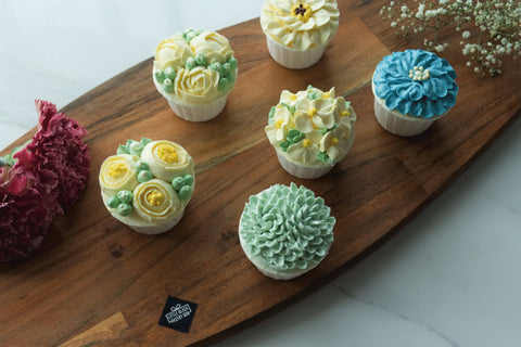 Flower Overdose with Floral Cupcakes - For Mother