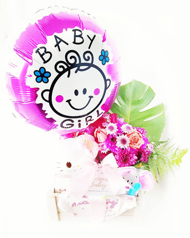 Baby Girl Bundle | Flowers