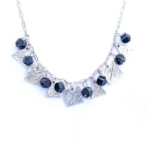 Black Panther Silver Necklace