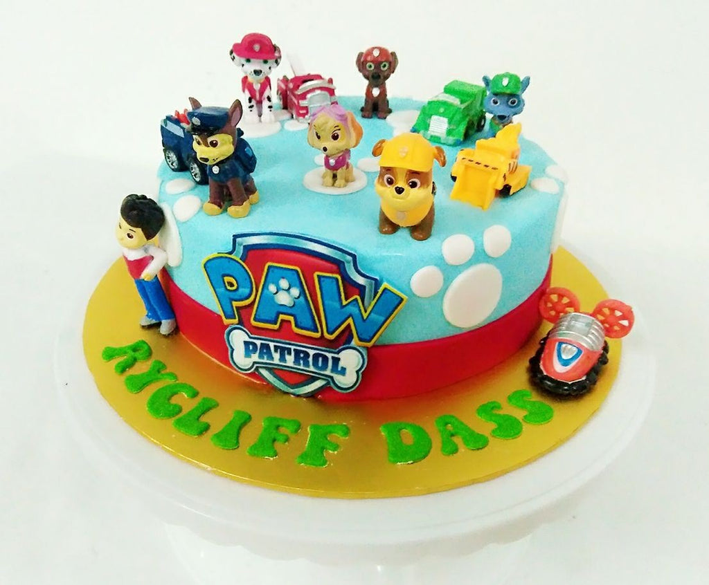 Paw Patrol Cake 1 Tier Giftr Malaysias Leading Online Gift Shop
