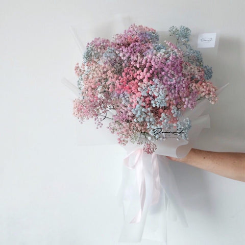 Romantic Baby Breath Bouquet (Valentine's Special)